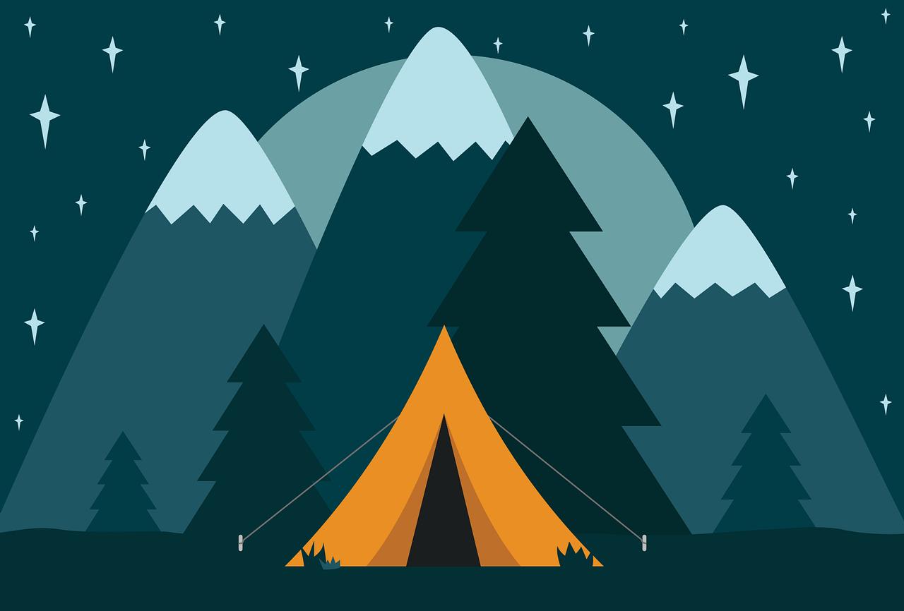 Wie Sie sich beim Camping amüsieren